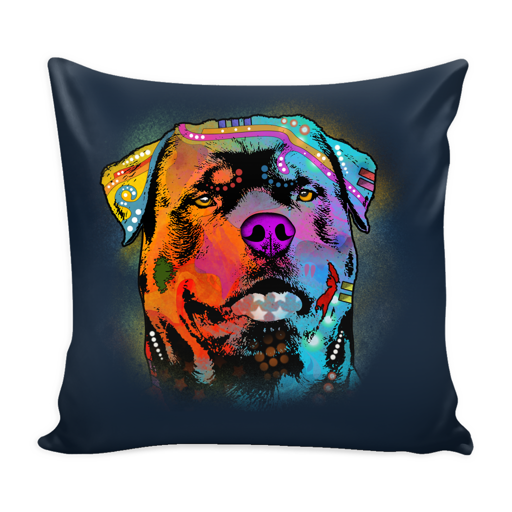 ROTTWEILER Pillow Cover, Multi-Colors