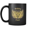 Bulldog Love Black Mug
