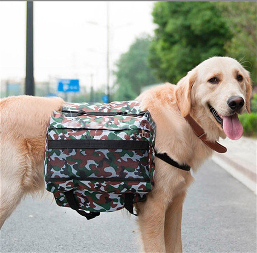 Carry Bags - Outward Hound Saddle Bags Pet Dog Backpacks Carrier For Large Dogs