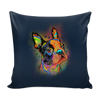 BOSTON TERRIER Pillow Cover, Multi-Colors