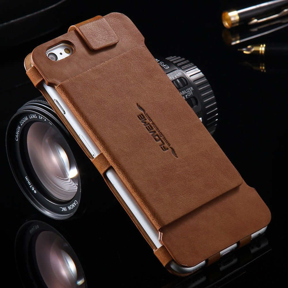 Cellphone Case - 2 In 1 Folded Leather Case Wallet For IPhone 6 6s/Plus Note 5/s6 Edge Plus