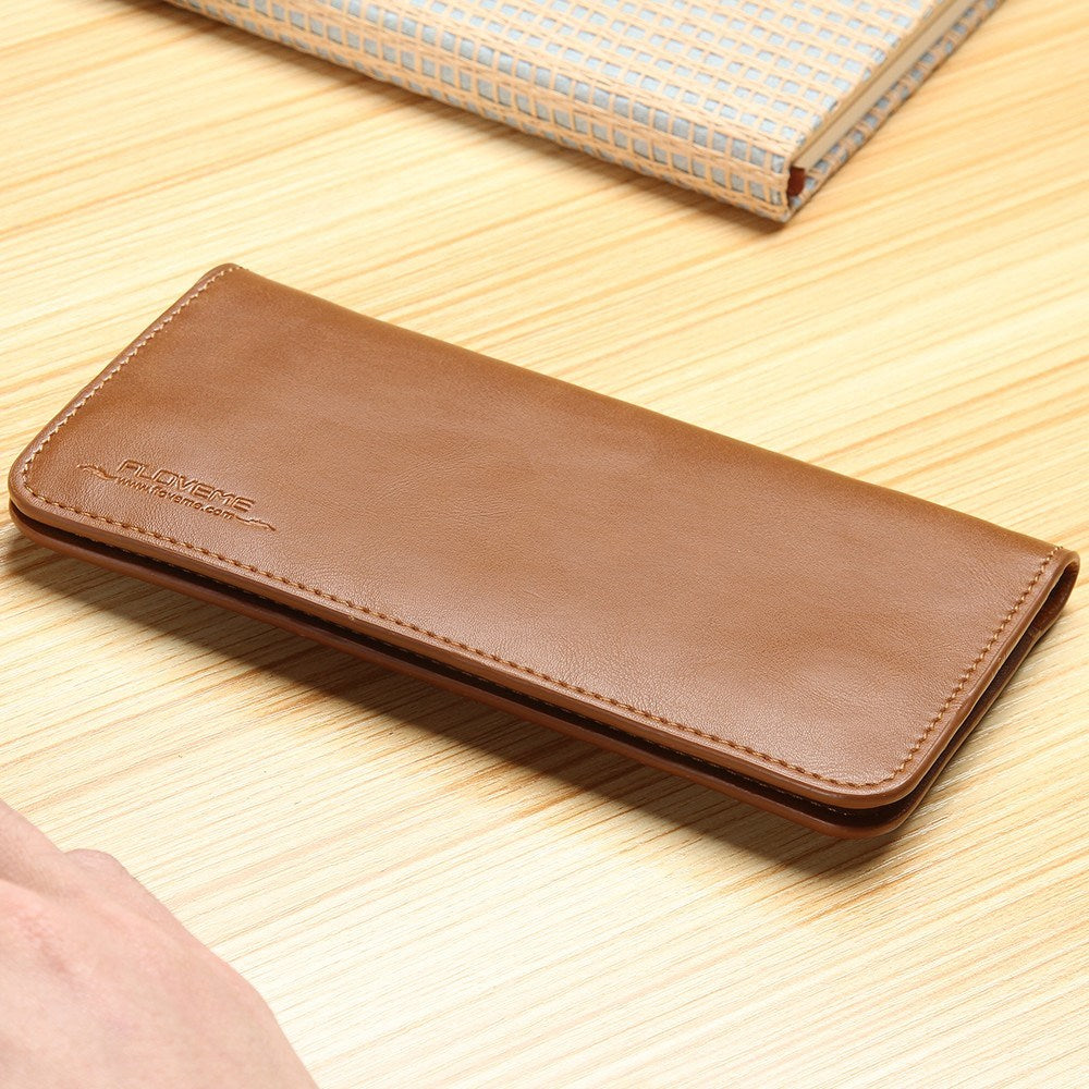 Cellphone Case - Floveme Luxury Leather Wallet Case For Samsung Galaxy S6 Edge IPhone 6/s