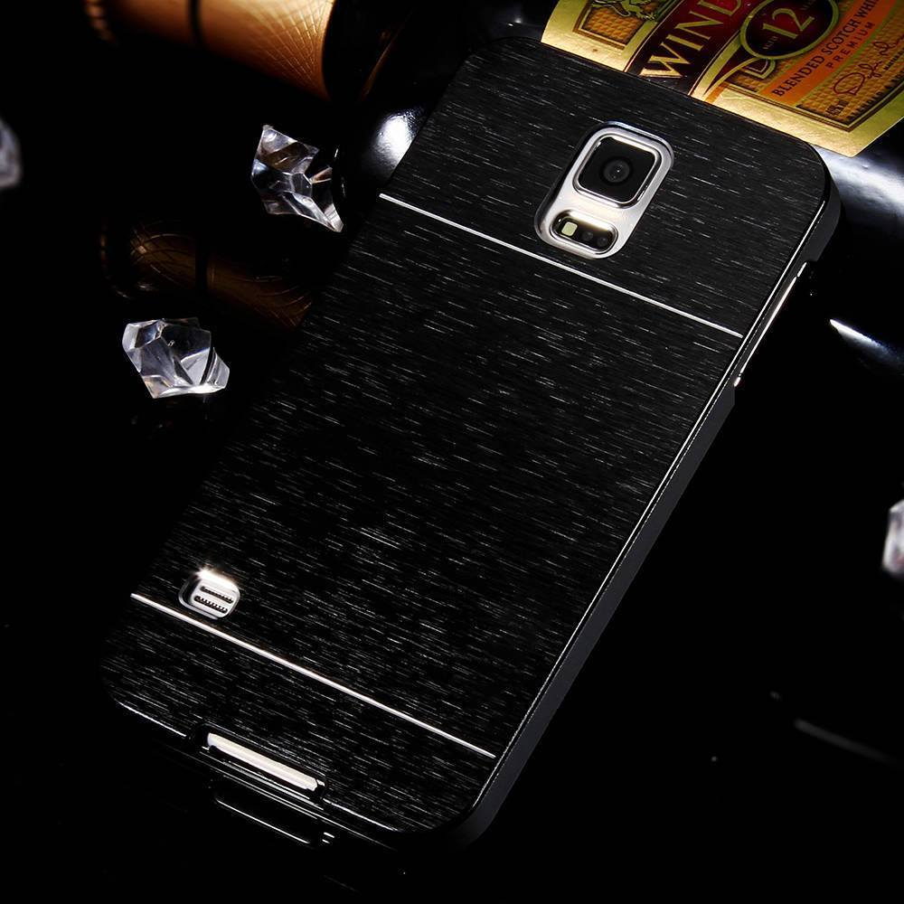 Cellphone Case - Hot Metal Gold Hard Back Cover Case For Samsung Galaxy S5 I9600