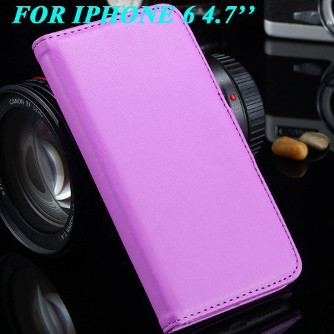 Cellphone Case - Leather Wallet Case With Photo Frame Card Slot For IPhone 6/Plus
