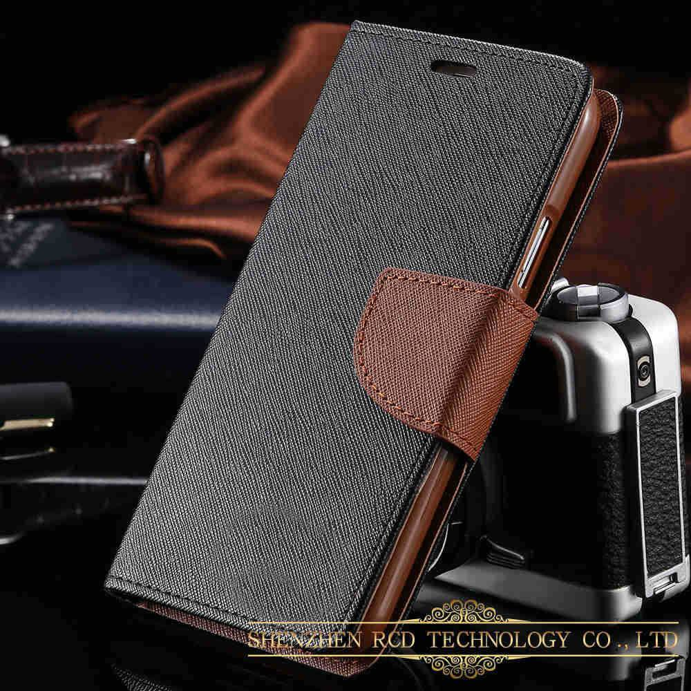 Cellphone Case - Mercury Case For Samsung Galaxy S5 I9600 Leather Cover With Credit Card Slot