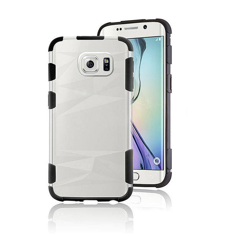 Cellphone Case - Shockproof Hybrid Hard Case For Samsung Galaxy S6 Edge