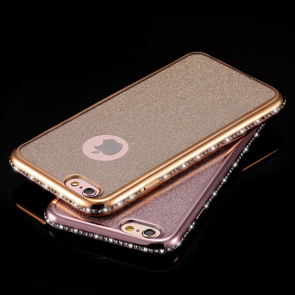 Cellphone Case - Ultrathin Glitter Diamond Soft Case For IPhone 6/Plus/6s/Plus