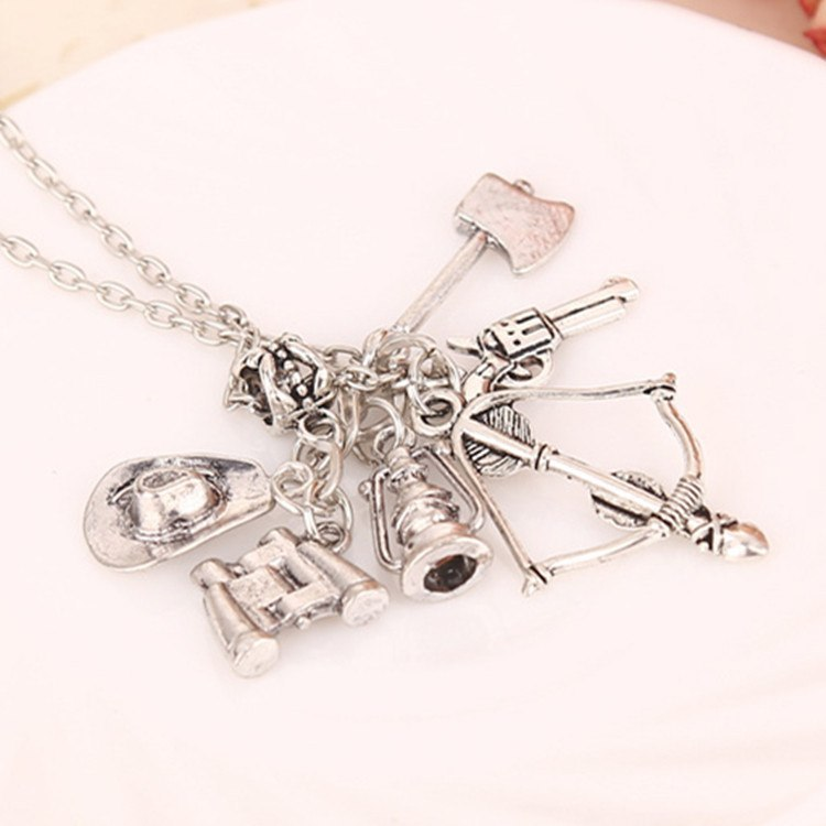 Collectibles - The Walking Dead Vintage Necklace