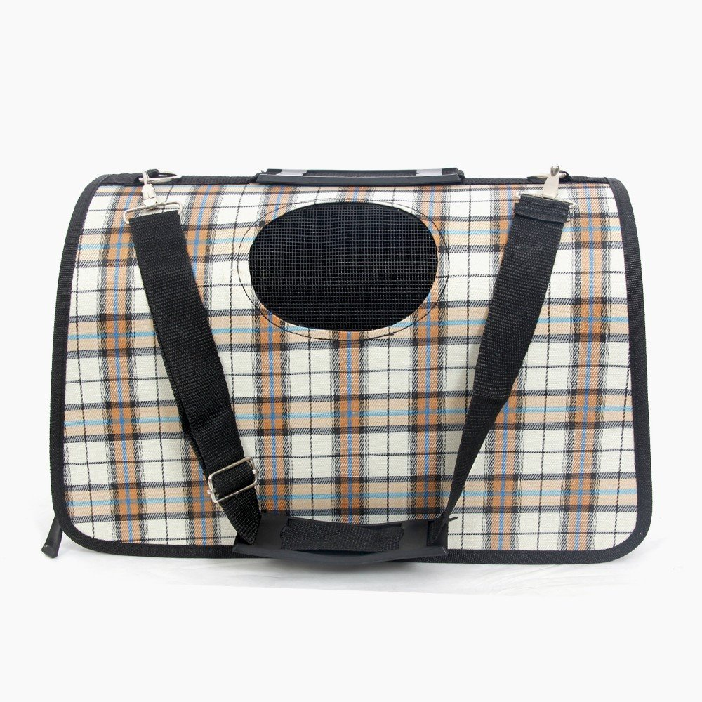 Dog Carriers - British Style Dog Carrier Leather Tote