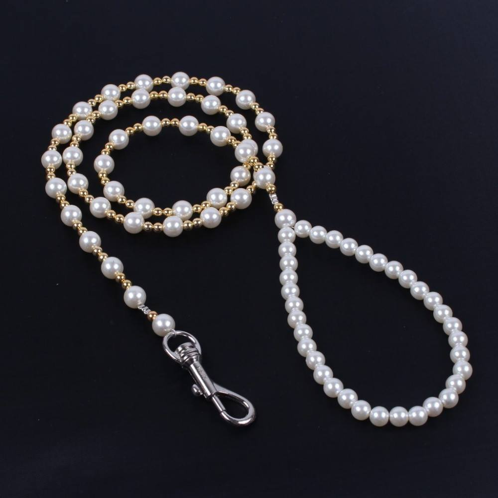 Dog Leash - Pearl Rope Leash With Quick Release