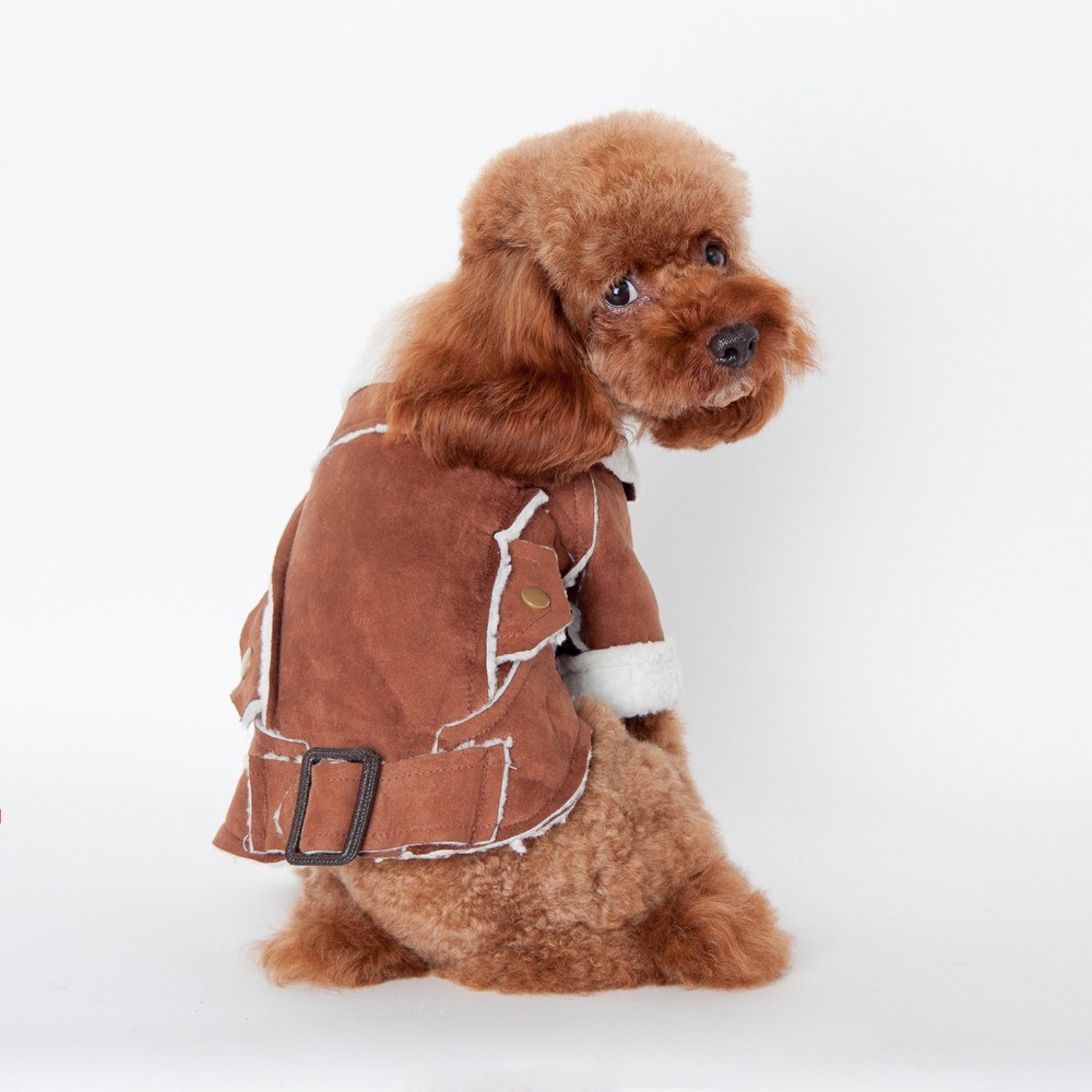 Dog Sweatshirts, Jumpsuits, Coats & Jackets - Buckle & Fleece Dog Coat