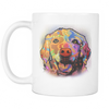 GOLDEN RETRIEVER 11oz White Mug