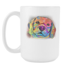 BEAGLE 15oz White Mug