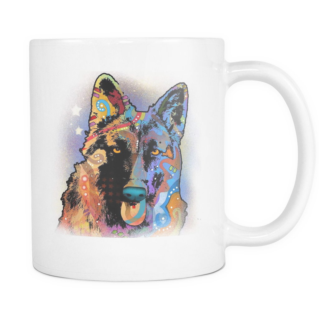 GERMAN SHEPHERS 11oz White Mug