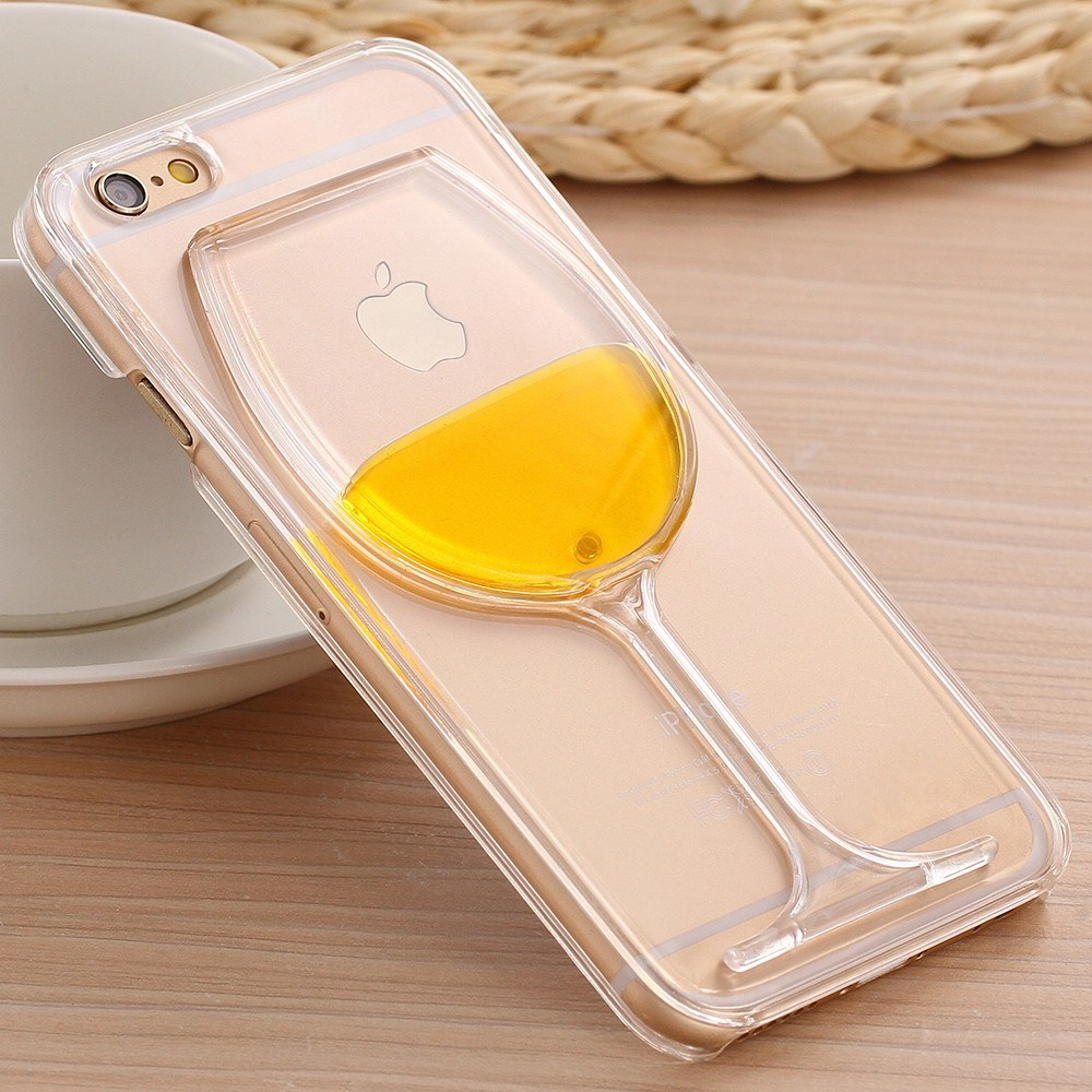 IPhone 5, 5s, 6, 6s, 6s+ - Liquid Wine Case For IPhone 5, 5s, SE 6 6s 6s Plus