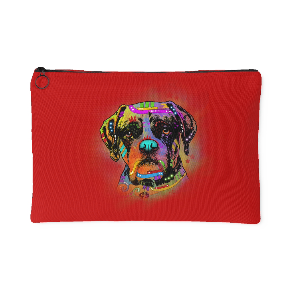 Boxer Accessory Pouch, Royal Red