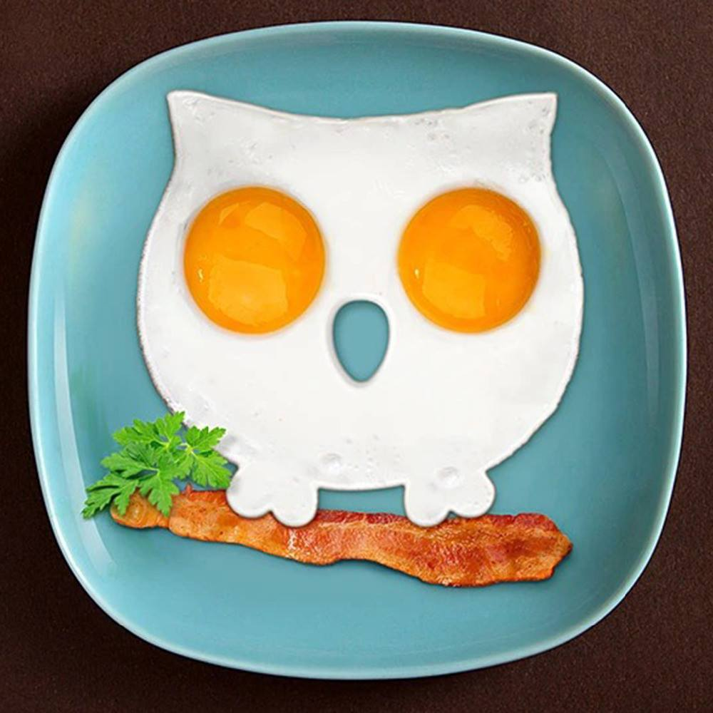 Kitchen - Owl Egg Mold - Funny Side Up