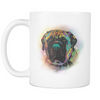 ENGLISH MASTIFF 11 oz White Mug