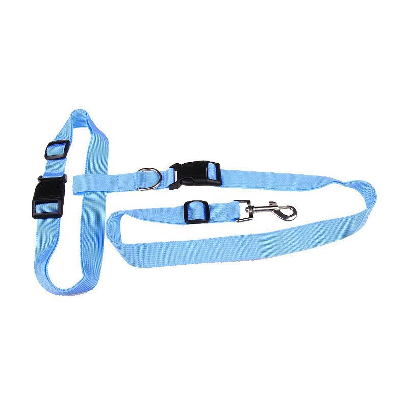 LED & Other Dog Collars, Leashes & Harnesses - Hands Free Waist Connect Dog Collar And Leash