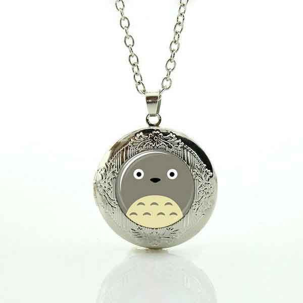 Charming Summer Style Totoro Inspired Large Face Necklace - FREE OFFER!