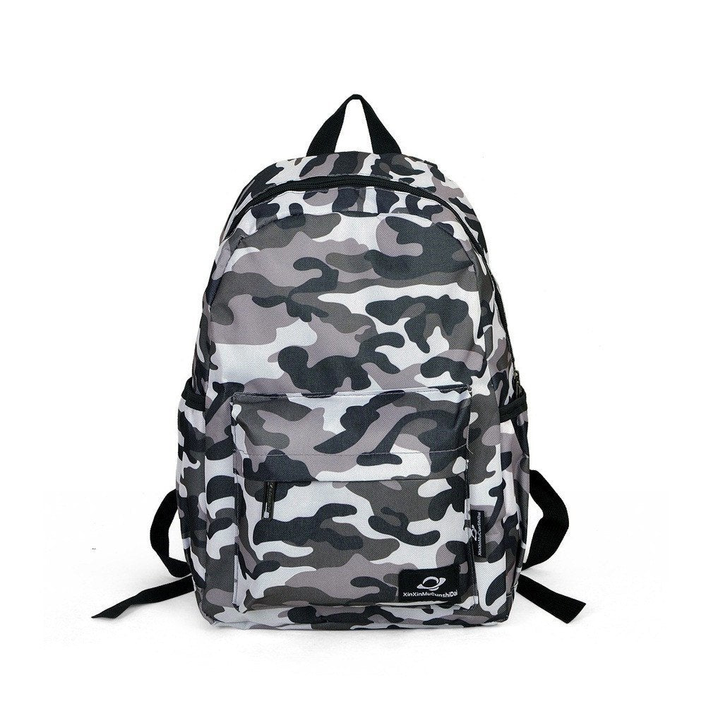 Luggage /BackPacks - Preppy Style Casual Camouflage Backpack