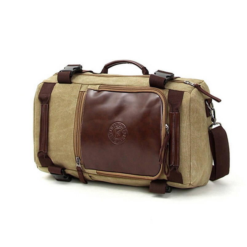 Luggage /BackPacks - Vintage Men's Casual Satchel Crossbody Outdoor Backpack