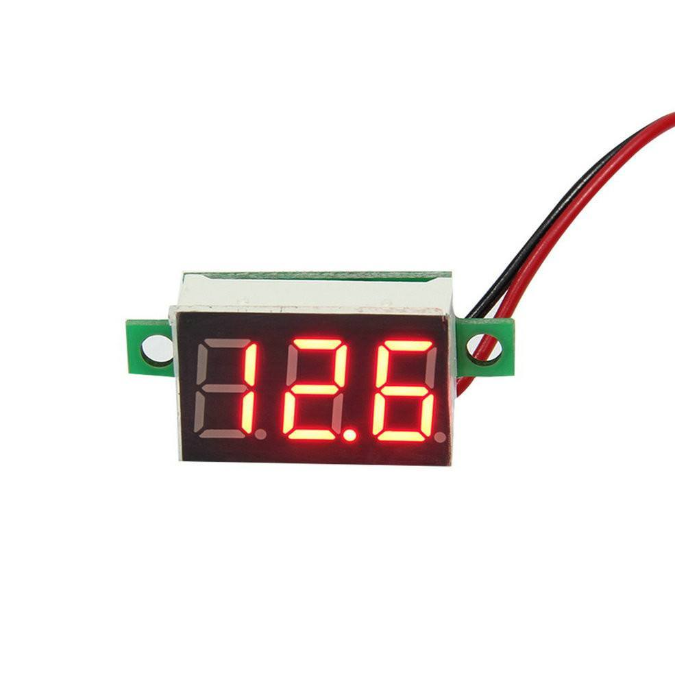 Organizing - LCD Digital Voltmeter