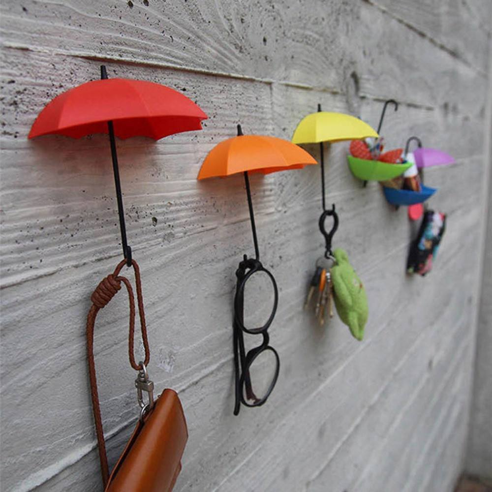 Organizing - Umbrella Wall Hooks - 3 Pc Set
