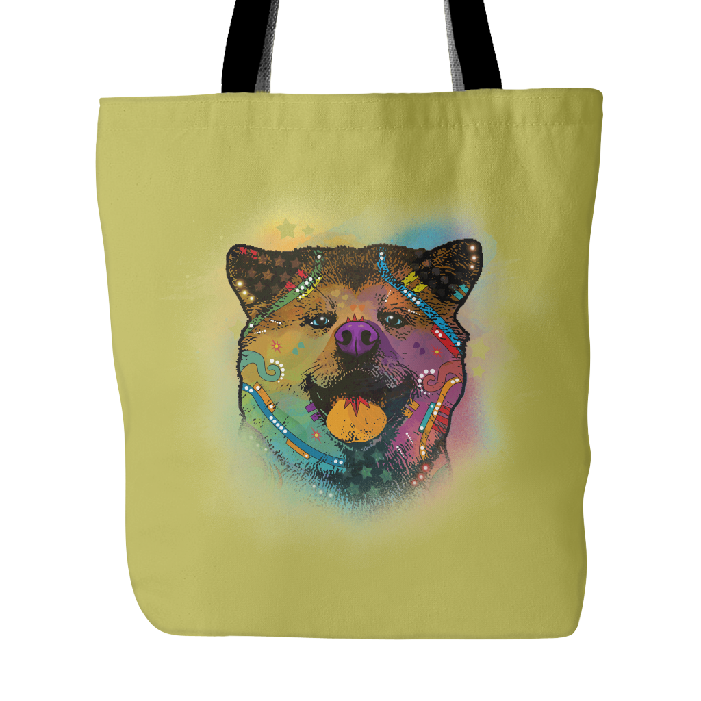 AKITA Tote Bag, Multi-Colors