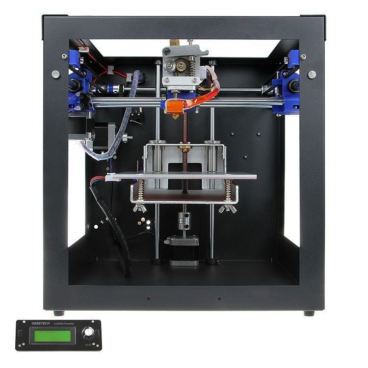 Printer - Geetech Mini Desktop 3D Printer Markerbot Sanguinolulu V1.3a MK8 Extruder