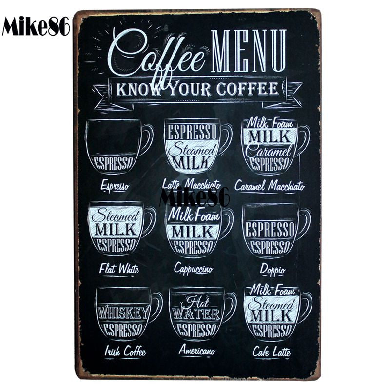 Retro & Eco-Friendly Metal Signs