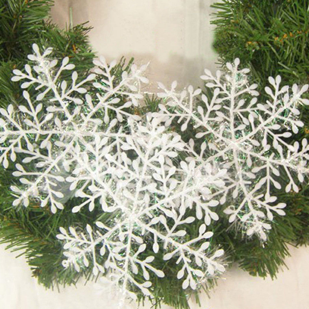Snowflakes String Christmas Decor 30pcs
