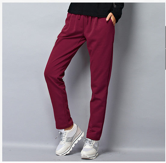 Relaxed Fit Drawstring Pant - 4 Colors