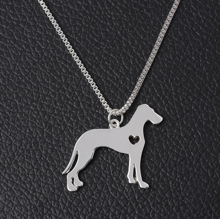 I ❤️ Great Dane Necklace
