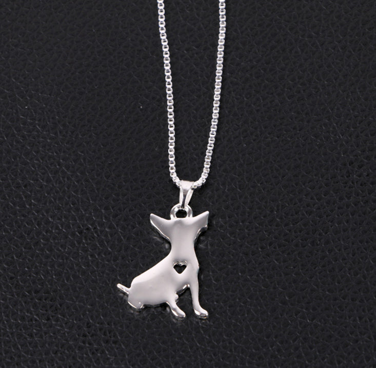 I ❤️ Chihuahua Necklace