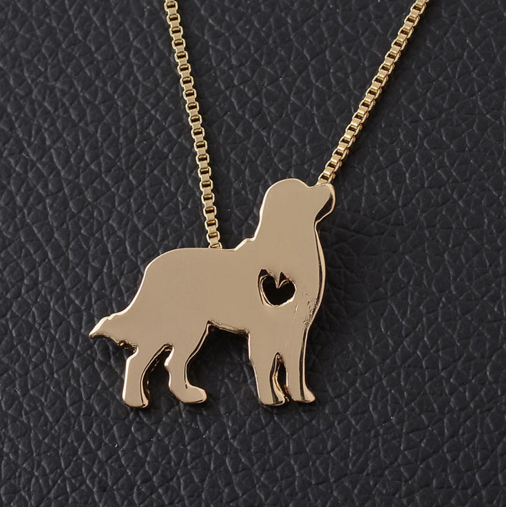 I ❤️ Bernese Mountain Dog  Necklace