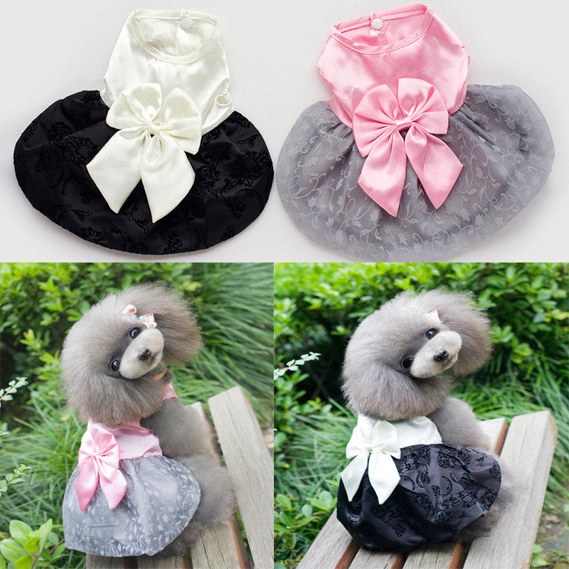 Dog Skirt  Pet Dress Clothing