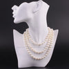 Real Freshwater Pearl Necklace Sweater Chain Style