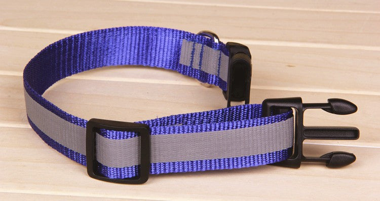 Glow Reflective Nylon Collars for Dog and Cat