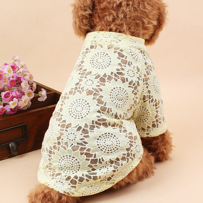 Cooling Vest Thin Bottoming Shirt Printing For Dog