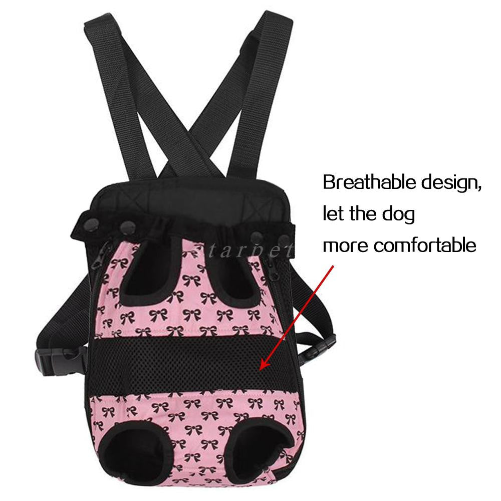 Pet Front Mesh Carrier Outdoor Backpack