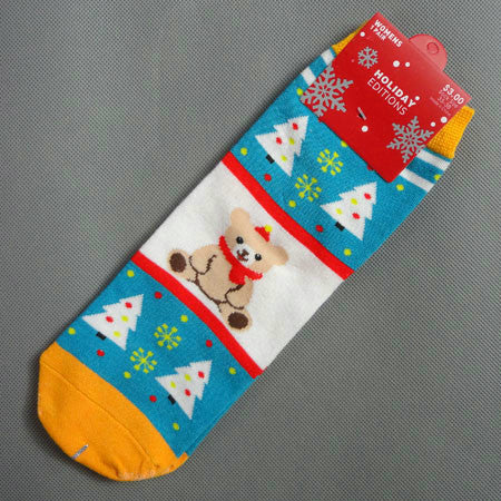 Christmas Ladies Short Winter Warm Socks