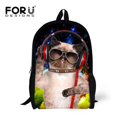 We Be Jammin' Pets Backpacks! Galaxy Cool Cat & Funky Frenchy and more!