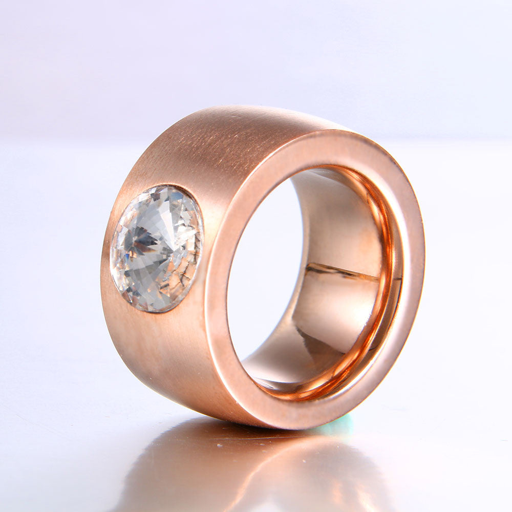 Large Stainless Ring