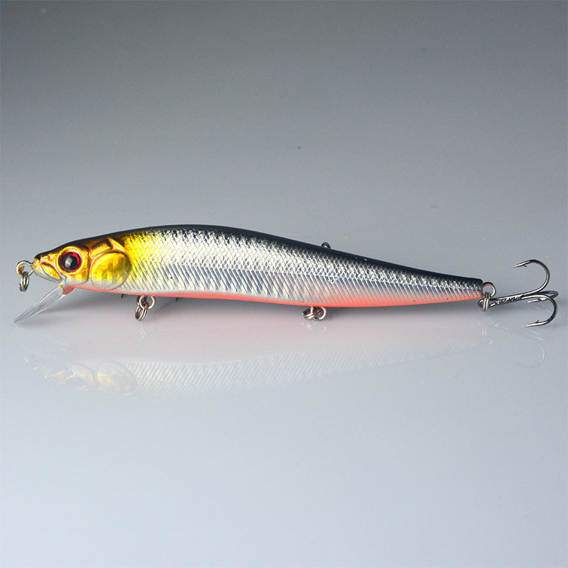 Fishing Lure Minnow Hard Bait with 3 Fishing Hooks Fishing Tackle Lure 14 cm 23.7 g