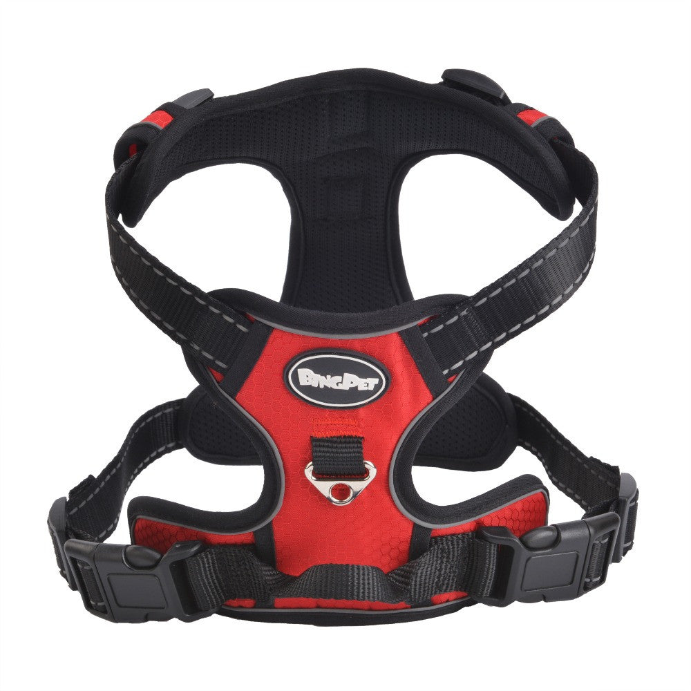 Breathable Adventure Large Dog Harness Walk Vest  Breakaway Air Mesh Training  XS to XL