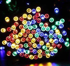 100 LED Outdoor 8 Color Solar Lamp LED String Christmas Lights