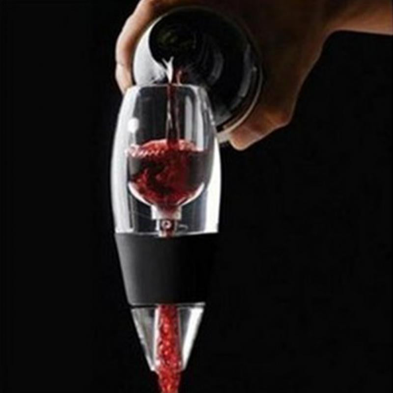 Free Shipping Magic Wine Decanter,Red Wine Aerator Filter,Wine Essential Equipment gift wine aerator decanter