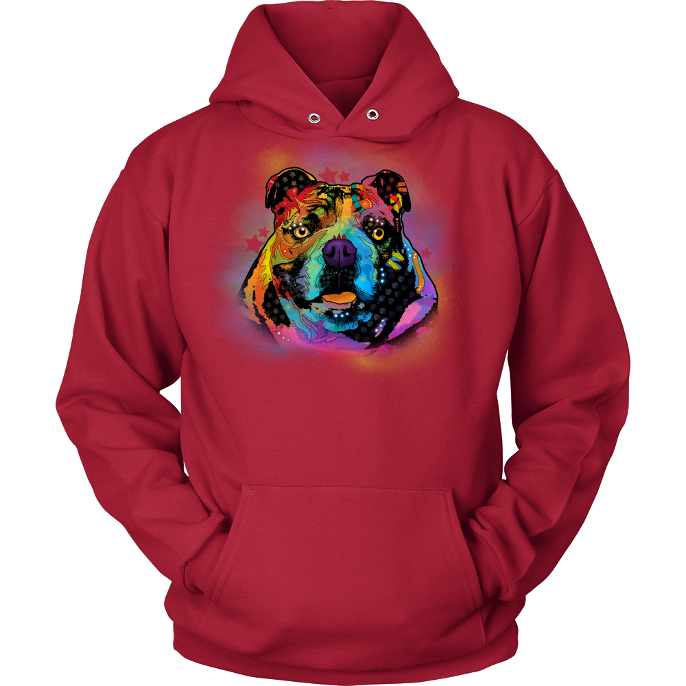 ENGLISH BULLDOG Lover Hoodie, All Colors & Sizes