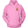 Cool Dog Hoodie Front & Back - All Colors & Sizes